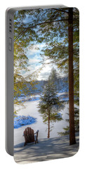River View Portable Battery Charger by David Patterson