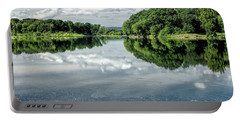 River View Portable Battery Charger by Nicki McManus