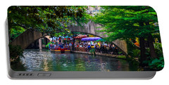 River Walk Dining Portable Battery Charger