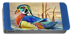 River Wood Duck Portable Battery Charger