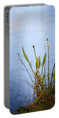 Portable Battery Charger featuring the photograph Riverbank Beauty by Carolyn Marshall
