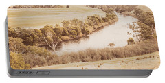 Rivers Of Pastoral Wash Portable Battery Charger