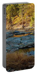 Portable Battery Charger featuring the photograph Riverside by Iris Greenwell