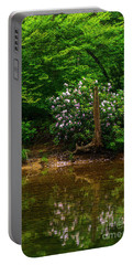 Riverside Rhododendron Portable Battery Charger
