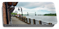 Riverwalk In Wilmington North Carolina Portable Battery Charger