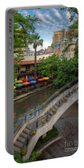 Riverwalk Stairway Portable Battery Charger