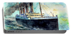 Rms Titanic White Star Line Ship Portable Battery Charger