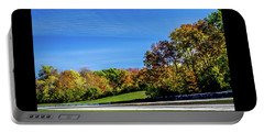 Road America In The Fall Portable Battery Charger