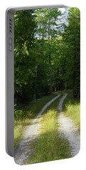 Road Into The Woods Portable Battery Charger