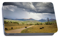 Portable Battery Charger featuring the photograph Road To Colorado  by Dawn Romine