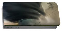 Portable Battery Charger featuring the photograph Road To Mesocyclone by Aaron J Groen