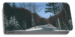 Road To Northport - Winter Portable Battery Charger