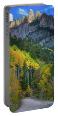 Road To Silver Mountain Portable Battery Charger