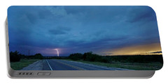 Lightning Over Sonora Portable Battery Charger