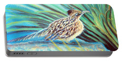 Roadrunner Fluffing Sold   Pastel Portable Battery Charger