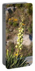 Portable Battery Charger featuring the photograph Roadside Beauty by Sheila Brown
