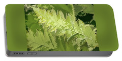 Roadside Fern 2 - Portable Battery Charger