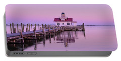 Roanoke Marshes Lighthouse  Portable Battery Charger