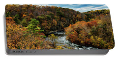Roanoke River Blue Ridge Parkway Portable Battery Charger by Thomas R Fletcher