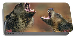 Roaring Bears Portable Battery Charger