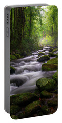 Great Smoky Mountains Roaring Fork Gatlinburg Tennessee Portable Battery Charger