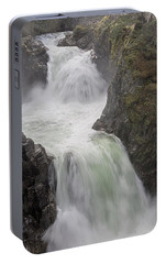 Portable Battery Charger featuring the photograph Roaring River by Randy Hall