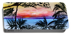 Roatan Sunset Portable Battery Charger