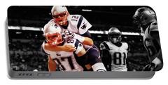 Rob Gronkowski And Tom Brady Portable Battery Charger