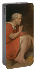 Robert, Duke Of Normandy, In Prison Portable Battery Charger