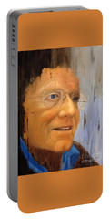 Robert Monk Self Portrait Portable Battery Charger