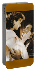 Robert Taylor And Greta Garbo Portable Battery Charger