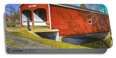 Roberts Covered Bridge Portable Battery Charger