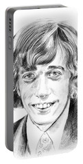 Robin Gibb Drawing Portable Battery Charger