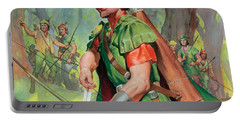 Robin Hood Portable Battery Charger by James Edwin McConnell