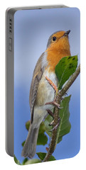 Robin In Eden Portable Battery Charger