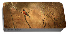 Robin Portable Battery Charger by Lois Bryan