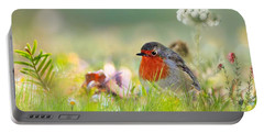 Robin Red Breast Portable Battery Charger