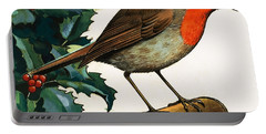 Robin Redbreast Portable Battery Charger by English School