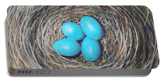 Robin's Eggs Portable Battery Charger