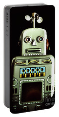 Robotic Spaceman Portable Battery Charger