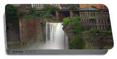 Portable Battery Charger featuring the photograph Rochester, New York - High Falls 2 by Frank Romeo