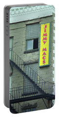 Portable Battery Charger featuring the photograph Rochester, New York - Jimmy Mac's Bar 2 by Frank Romeo