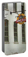 Portable Battery Charger featuring the photograph Rochester, New York - Jimmy Mac's Bar 3 by Frank Romeo