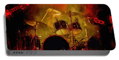 Rock And Roll Drum Solo Portable Battery Charger