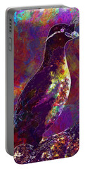 Rock Bird Auklet Crested Birds  Portable Battery Charger