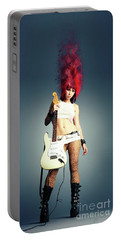 Rock Chick Portable Battery Charger