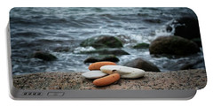 Rock Collection Portable Battery Charger by Karen Stahlros