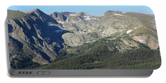 Rock Cut - Rocky Mountain National Park Portable Battery Charger by Pamela Critchlow