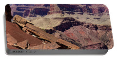 Rock Formations In The Grand Canyon Portable Battery Charger