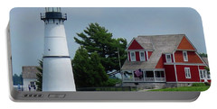 Rock Island Lighthouse July Portable Battery Charger